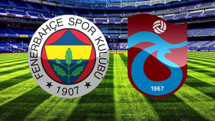 Fenerbahçe-Trabzonspor rekabetinde 123. randevu